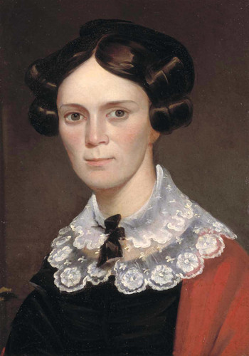 Portrait Of A Woman By George Catlin