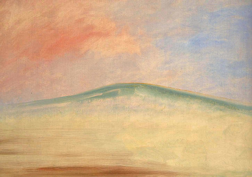 Landscape Background 8 By George Catlin