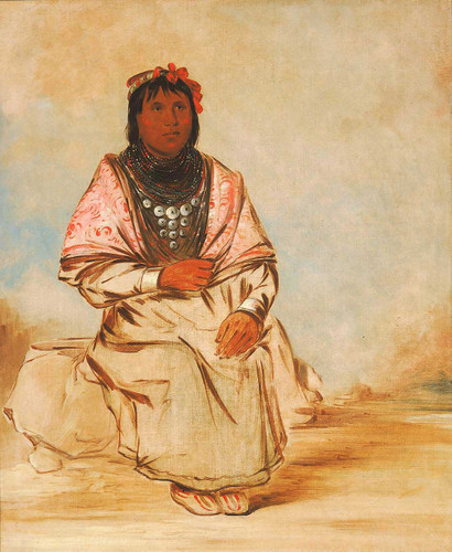 A Seminole Woman By George Catlin