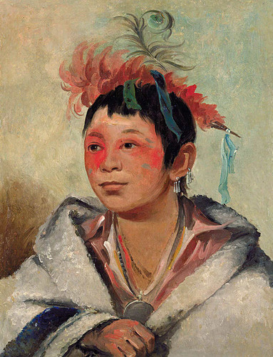 Au Nah Kwet To Hau Pay O One Sitting In The Clouds A Boy By George Catlin