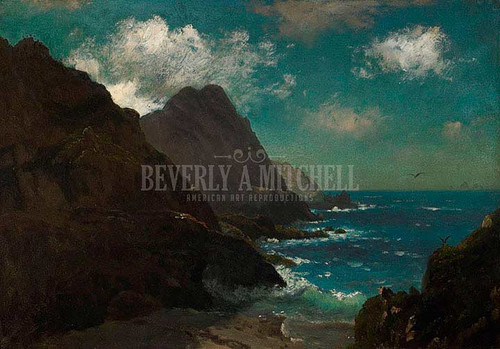Farallon Islands by Albert Bierstadt