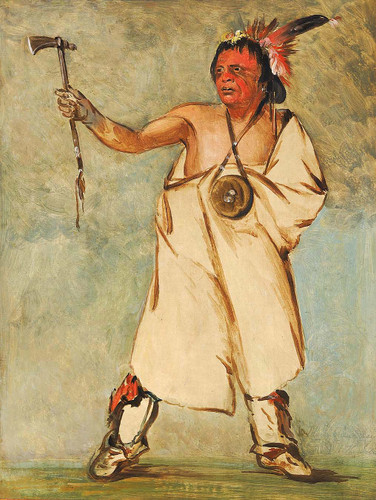 Naw Naw Pay Ee The Soldier By George Catlin