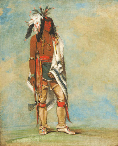 Not To Way A Chief By George Catlin