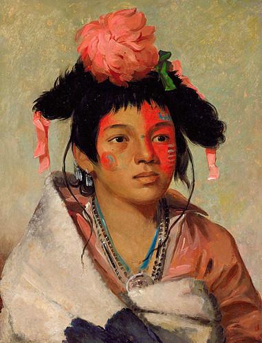 Tcha Kauk O Ko Maugh Great Chief A Boy By George Catlin