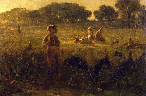 Turkey Pasture In Kentucky By George Fuller