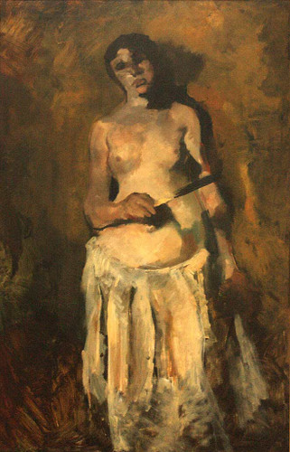 Female Nude By George Hendrik Breitner