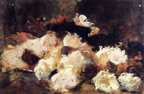 A Still Life With Roses By George Hendrik Breitner