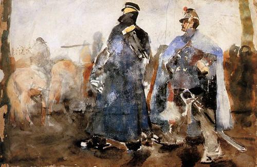 Huzars By George Hendrik Breitner