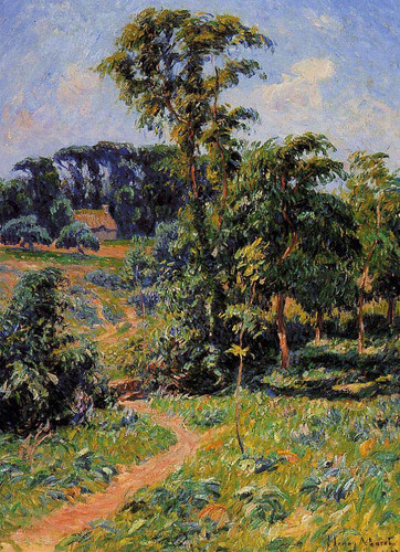 The Pen Clun Valley Clohars Caronet By Henri Moret