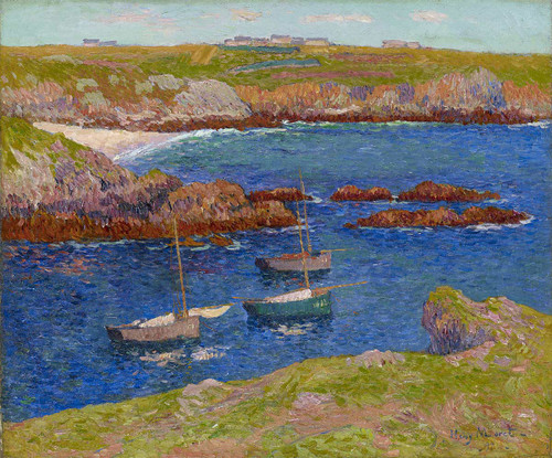 The Bay Of Lampaul Isle De Quessant By Henri Moret