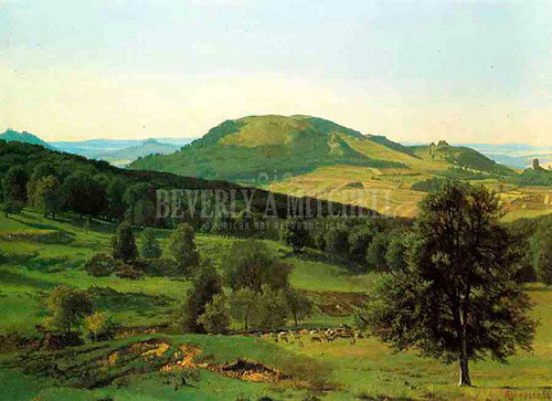 Hill And Dale by Albert Bierstadt