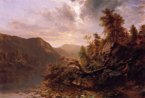 Loon Lake By James Mcdougal Hart