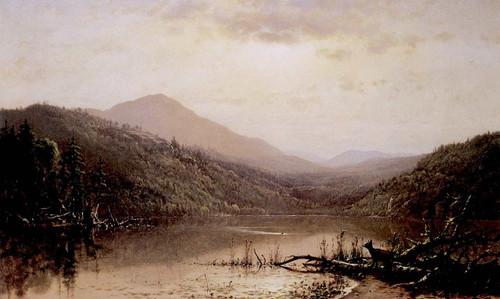 Mountains And Lake Adirondacks By James Mcdougal Hart