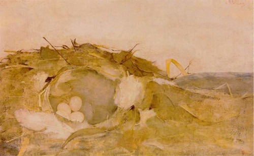 Bird's Nest In The Dunes By Jan Mankes