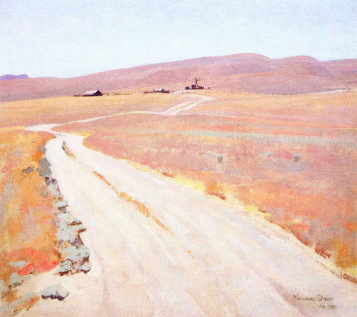 Abandoned Ranch By Maynard Dixon