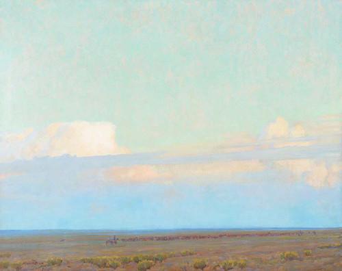 The Prairie By Maynard Dixon