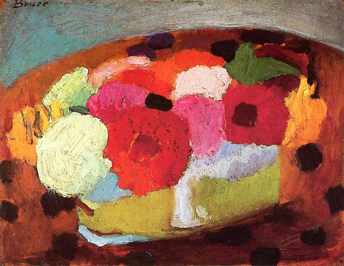 Still Life (Also Known As Still Life With Flowers) By Patrick Henry Bruce