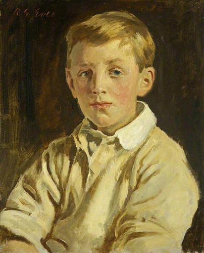 George Edward Dutton As A Boy By Reginald Grenville Eves