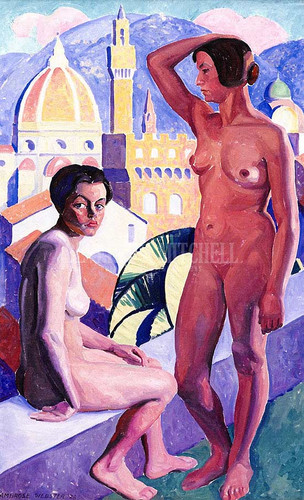 Nudes Florence by Edwin Ambrose Webster