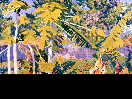 Bermuda Tropical Floral by Edwin Ambrose Webster