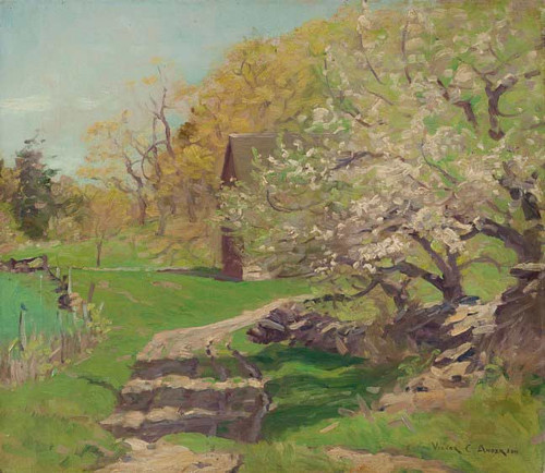 Apple Blossom By Victor Coleman Anderson