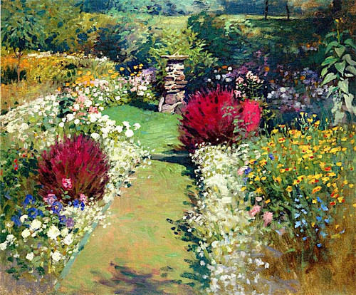 The Garden By Victor Coleman Anderson