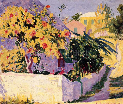 Hibiscus Bermuda by Edwin Ambrose Webster