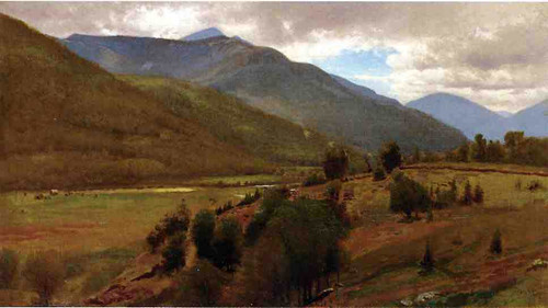 The Land Keene Valley By William M Hart
