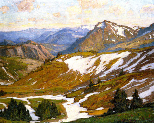 Mountain Infinity By William Wendt