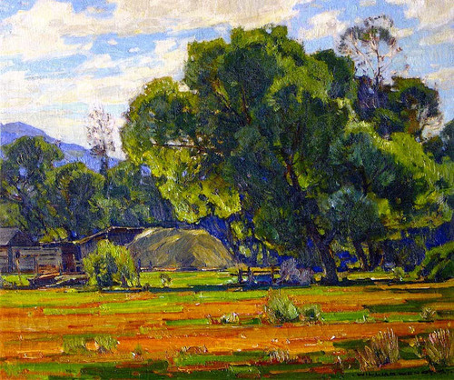 Mountain Willow By William Wendt
