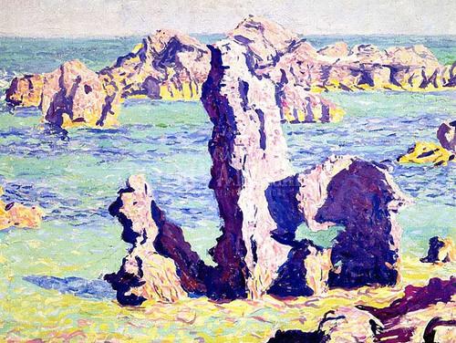 Rocks Bermuda by Edwin Ambrose Webster