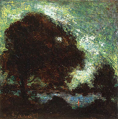 Night Emerald By Ralph Albert Blakelock