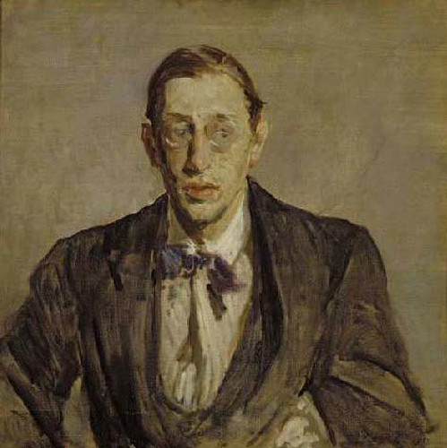 Study For The Portrait Of Igor Stravinsky By Jacques Emile Blanche