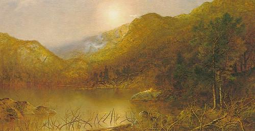 Mountain Lake By Ralph Albert Blakelock