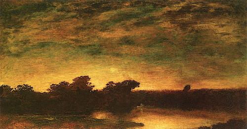 Sunset By Ralph Albert Blakelock