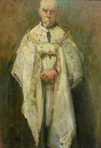 A Priest By Jacques Emile Blanche