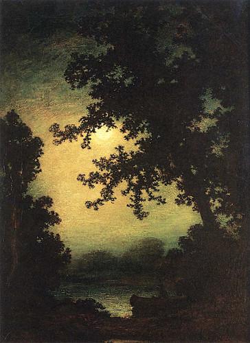 Stilly Night By Ralph Albert Blakelock