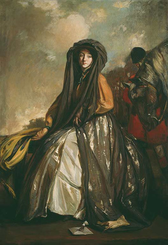 The Traveler By Jacques Emile Blanche