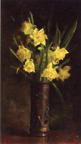 Daffodils By John Leslie Breck