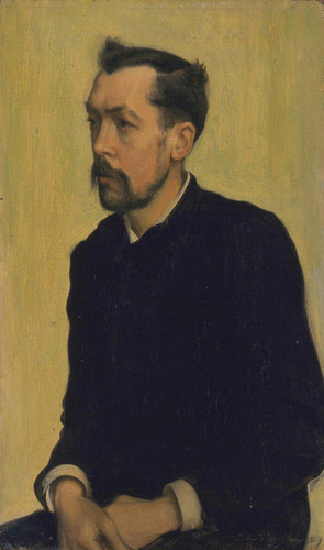 Francis Poictevin By Jacques Emile Blanche