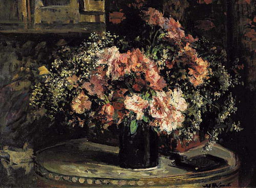Flower Still Life By Jacques Emile Blanche