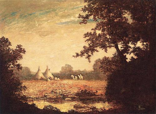In The Primordial Woods By Ralph Albert Blakelock