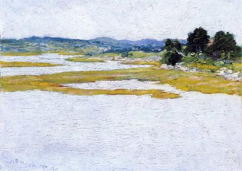Wetlands By John Leslie Breck