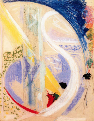 Abstraction 2 By Joseph Stella