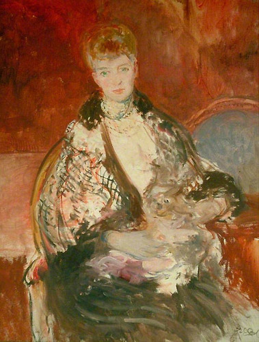 Alexandra Of Denmark Queen Consort Of King Edward Vii By Jacques Emile Blanche
