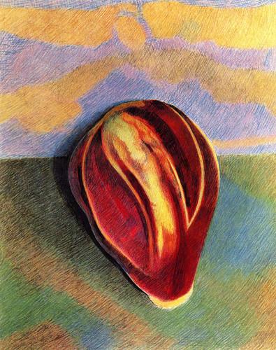 Eggplant By Joseph Stella