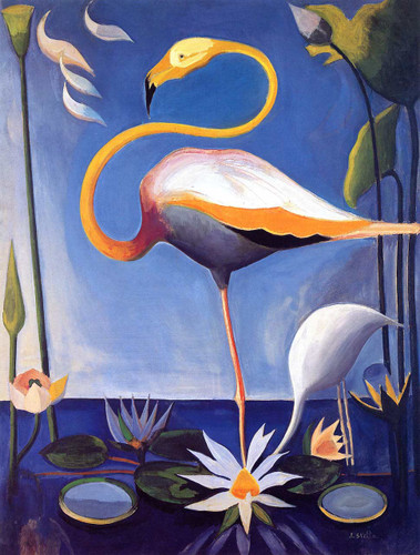 Flamingo By Joseph Stella