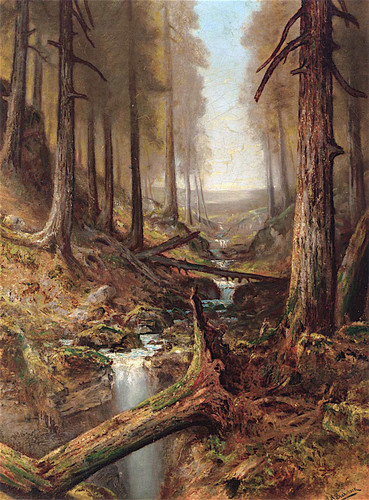 Forest Interior By Ralph Albert Blakelock