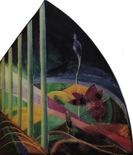 Landscape (Also Known As Waterlily) By Joseph Stella