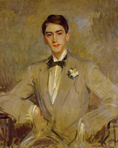 Study For A Portrait Of Jean Cocteau By Jacques Emile Blanche